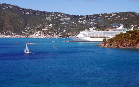 St. Thomas' harbor is one of the best natural harbors in the Caribbean.