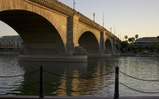 London Bridge in Lake Havasu City, Arizona.