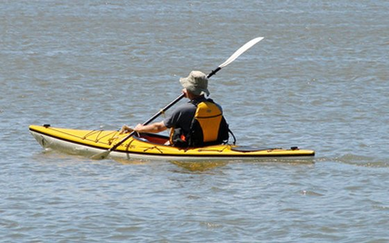 Kayaking is a popular activity in Roanoke's many rivers and lakes.
