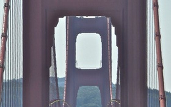 You can walk on the Golden Gate Bridge.