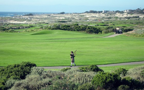 Carmel is home to the famed Pebble Beach Golf Course.