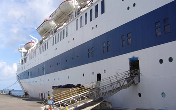 Older ships are a good choice for budget travelers to the Bahamas.