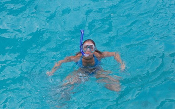 Snorkeling is a popular activity in the crystal-clear waters