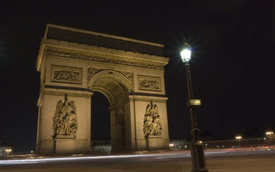 Use the underground walkway to reach the Arc de Triomphe.