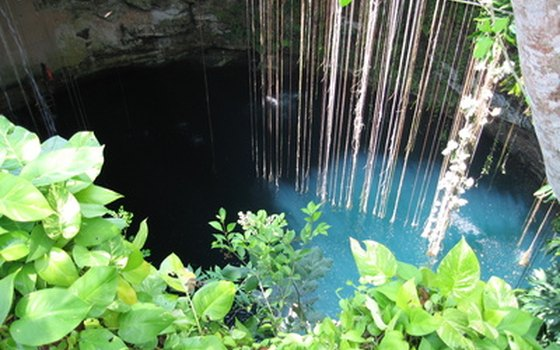 Go snorkeling or cave diving in one of the cenotes in Playa.