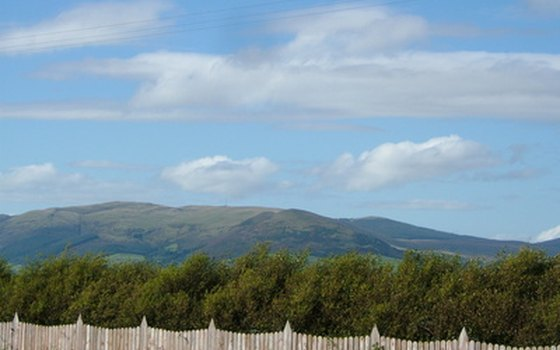The Mourne Mountains include Ulster's highest peak.