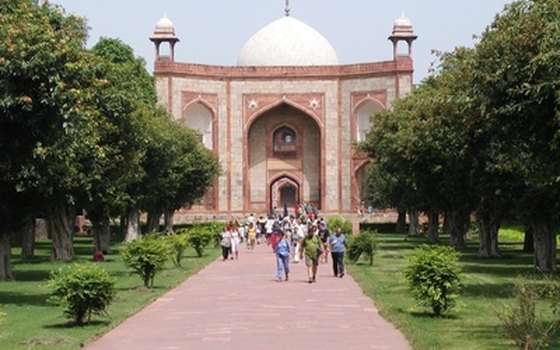 Humayun's tomb is just one of many architectural wonders in India's capital.