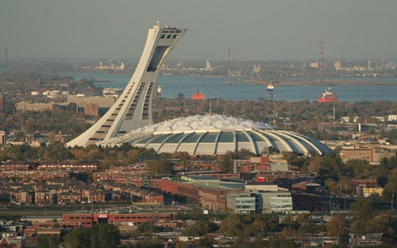 Take the Metro to Montreal's Olympic Stadium.