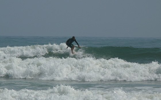 Surf the St. Augustine waters.