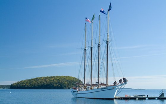 Experience French Bay aboard a four-masted schooner.