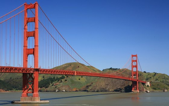 Get some exercise by walking the Golden Gate Bridge in San Francisco.