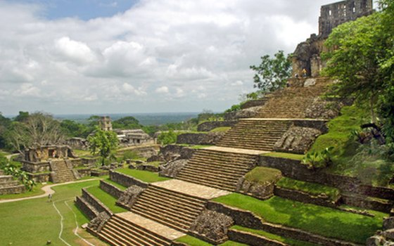 Palenque's Mayan temples are among the best preserved in Mexico