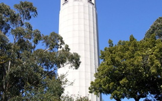 You can walk up the hill to Coit Tower near Freemont.