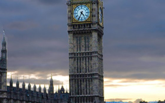 Big Ben overlooks Westminster Pier boat terminal