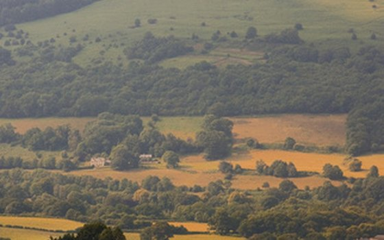 Brecon Beacons National Park' farmers and landowners invite campers to stay overnight on their property.