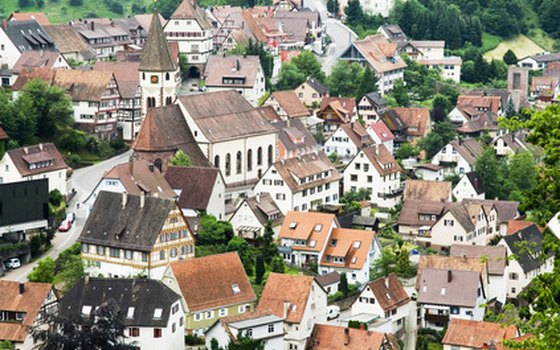 In most German villages, you'll find a comfortable gasthof, or guesthouse, with traditional food and clean rooms.