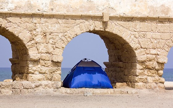 Options for tent camping are limited in Puerto Rico.