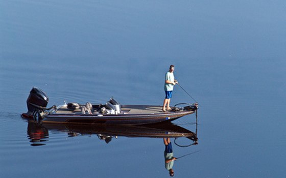The Conchas Lake State Park attracts fishing enthusiasts of all abilities.