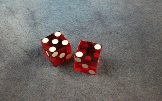 A small pair of dice make an inexpensive Vegas souvenir.