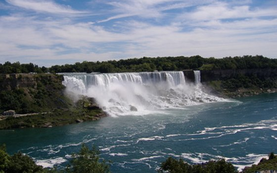 Over 14 million tourists visit Niagara Falls each year.