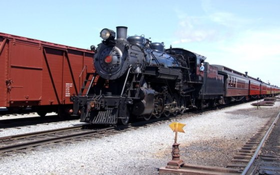 Don't miss your chance to board a vintage steam engine.