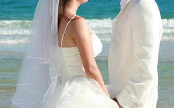 There are rules to follow regarding beach weddings.