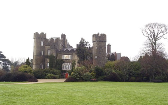 Malahyde Castle is on the outskirts of Dublin.