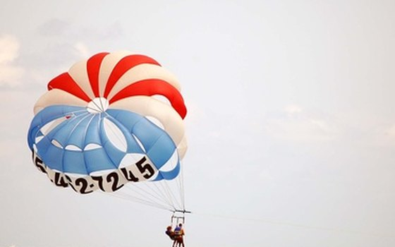 Parasailing in the Gulf