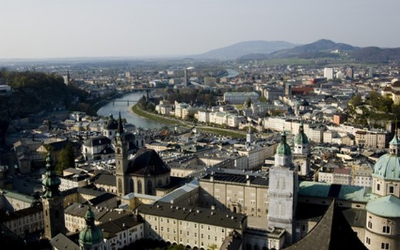 Visit the birthplace of Mozart in Salzburg, Austria, which borders Germany.