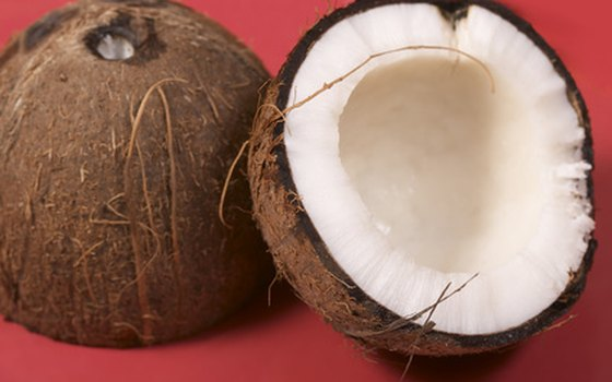 Coconut milk thickens and sweetens any dish.