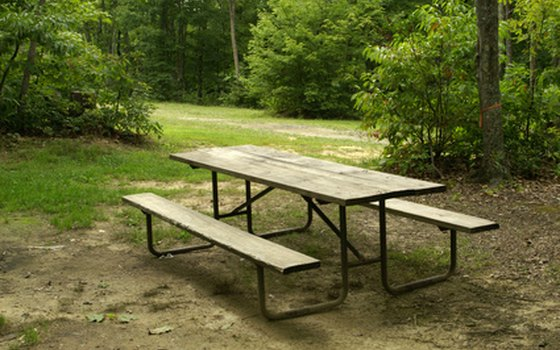 Picnic tables might be provided.
