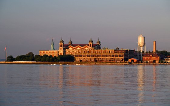The U.S. government also includes Ellis Island as part of the Statue of Liberty monument.