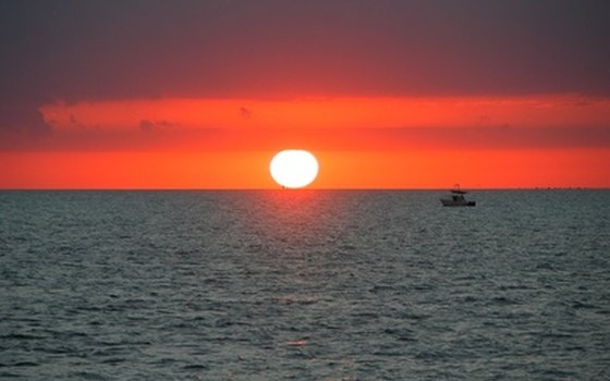 A famous Key West sunset.