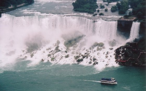 Take a boat ride to get closer to the roar of the falls.