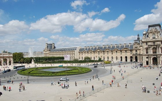 Many museums, including the Louvre, are free on the first Sunday of the month