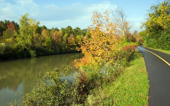 Enjoy a peaceful cruise on the Erie Canal.