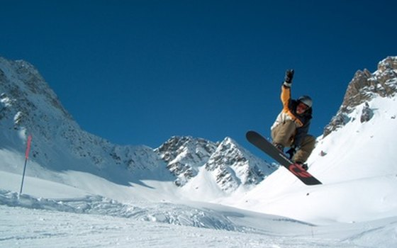 Zermatt's Gravity Snowboard park is one of the best in Europe.