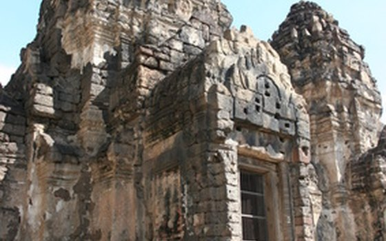 The monkeys in Lopburi inhabit the grounds of these temple ruins, which tourists can pay a small fee to explore.