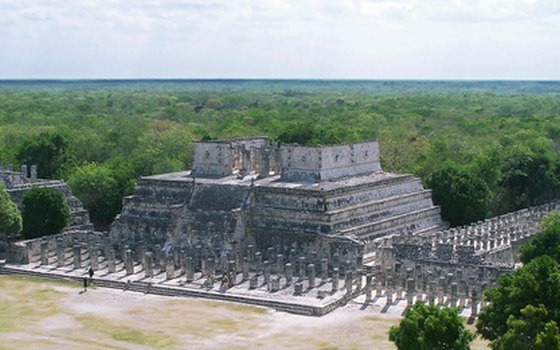 The Mayans were skilled architects.