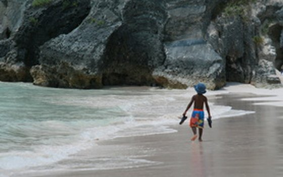 Beaches are a big draw on shore excursions to Bermuda.