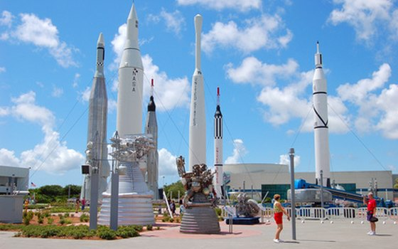 The Kennedy Space Center is a short drive from Cocoa Beach.
