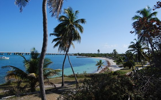 Key West's best beaches are easily-reached from the area's RV campgrounds