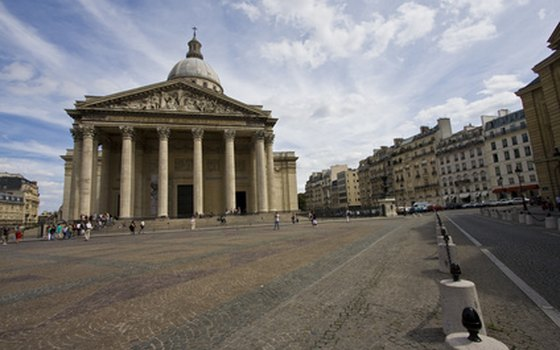 The Pantheon is the final resting place for French greats such as Voltaire and Alexander Dumas.