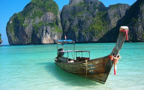 Thailand's Phi Phi island is a serene paradise that tourists can explore.