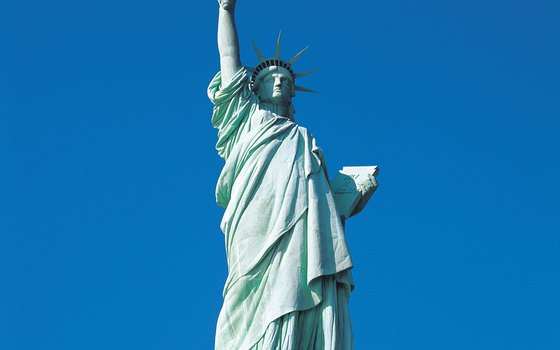 The Statue of Liberty was a gift from France.