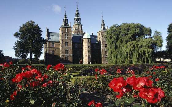 Copenhagen's Rosenborg Castle is an example of Dutch Renaissance architecture.