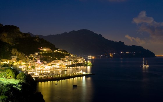 The end of the day is just the beginning when staying in Positano.