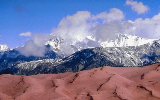 Medano Creek is located in Great Sand Dunes National Park.