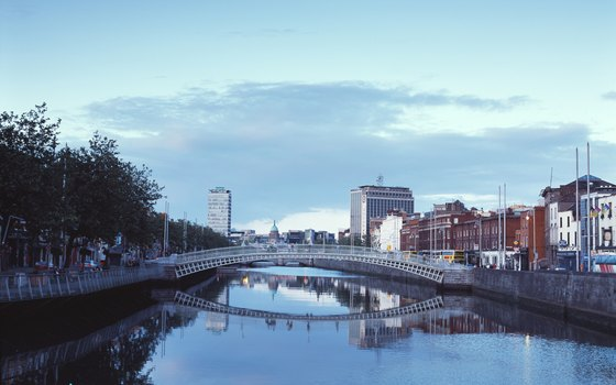 Dublin has historic buildings and bridges for roaming travelers.