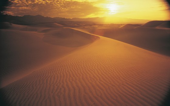 Death Valley is the driest place in North America.